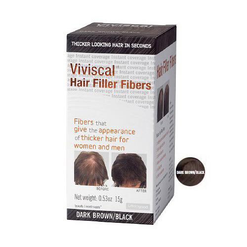 Viviscal Hair Filler Fibers Dark Brown/Black