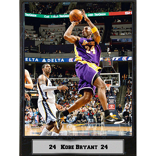 NBA Kobe Bryant Photo Plaque, 9x12