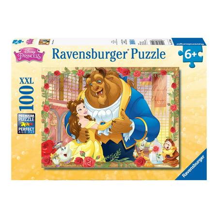 Disney Princess Jigsaw - Disney Princess Belle & Beast (100 PC Puzzle) (Other)