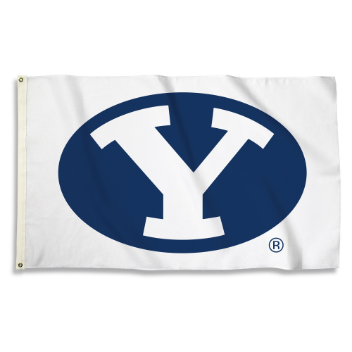 Bsi Products Inc Brigham Young Cougars Flag with Grommets Flag with Grommets