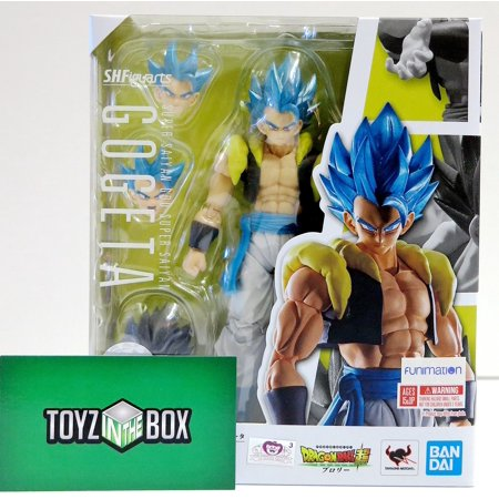 S.H. Figuarts Dragon Ball Super Super Saiyan God Gogeta Action