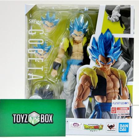 S.H. Figuarts Dragon Ball Super Super Saiyan God Gogeta Action Figure (Dragon Ball Z Toys 6 Pack)