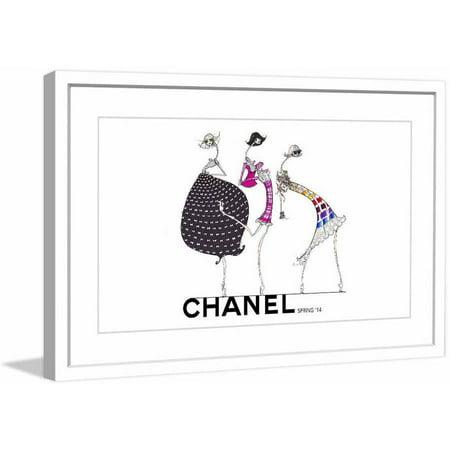 Marmont-Hill-Chanel-Spring-14-by-Jamie-Lee-Reardin-Fashion-Illustrator-Framed-Art-Print