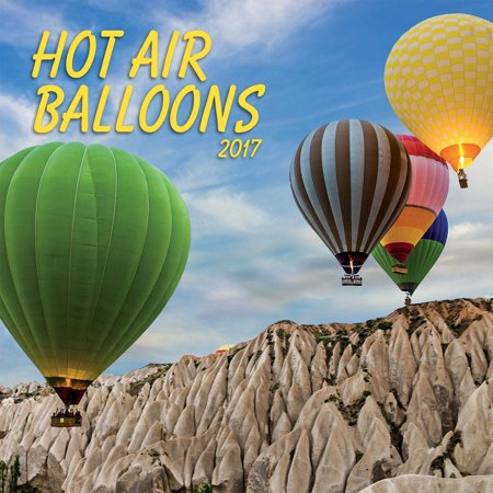 Photo 2017 Hot Air Ballons Photo Wall Calendar  12 X 24 Inches Opened  17998940026  By Turner