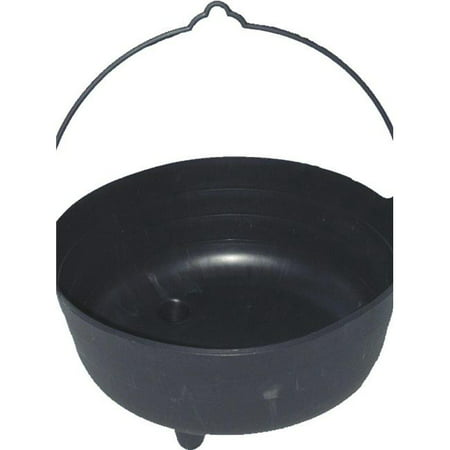 Caldron For Halloween (Smiffys 97389 Lifesize Witchs Cauldron, Black -)