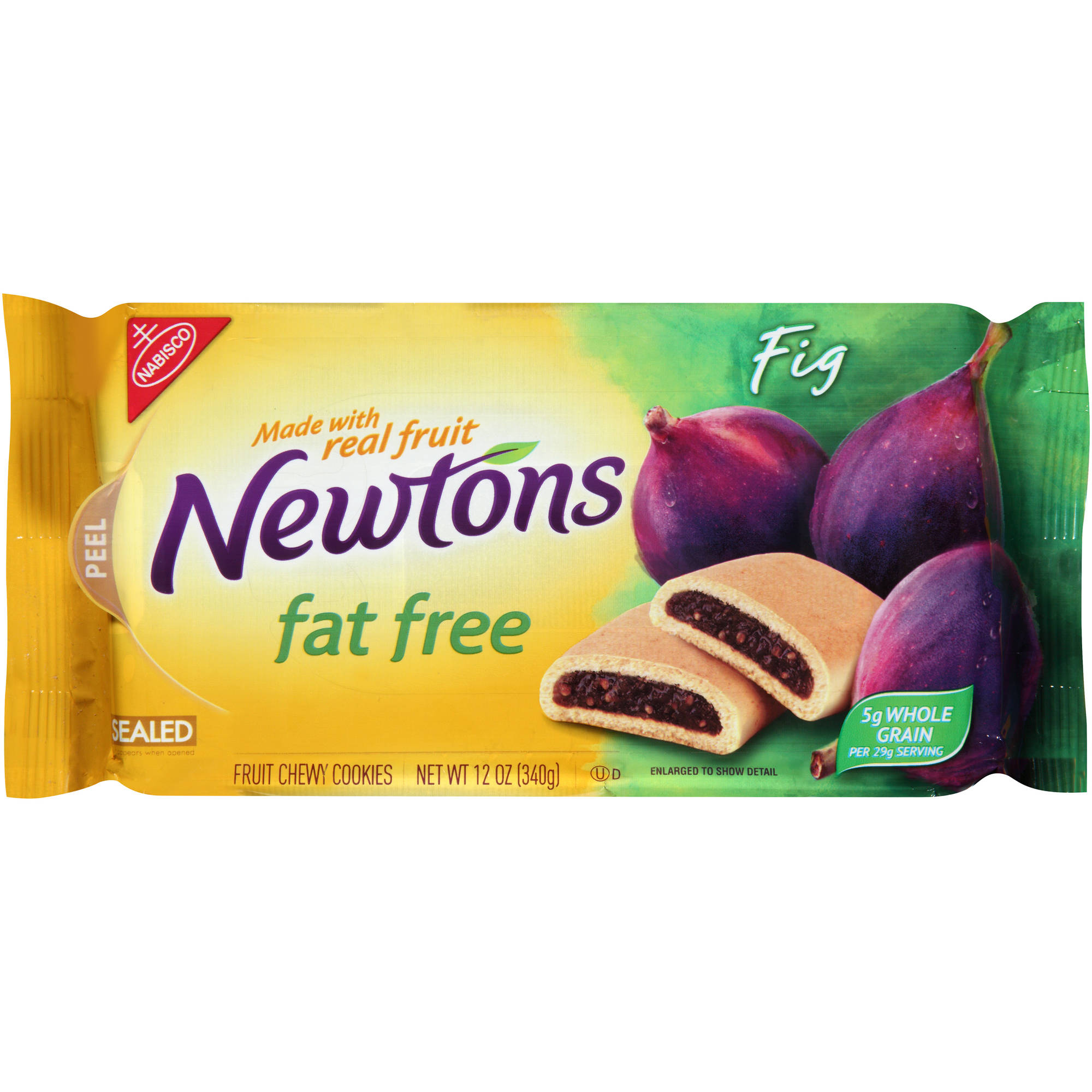 Nabisco Newtons Fat Free Fig Fruit Chewy Cookies, 12 oz