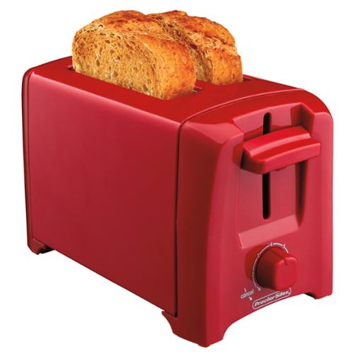 Hamilton Beach Proctor Silex 2 Slice Toaster with Auto Shutoff, Red | 22620