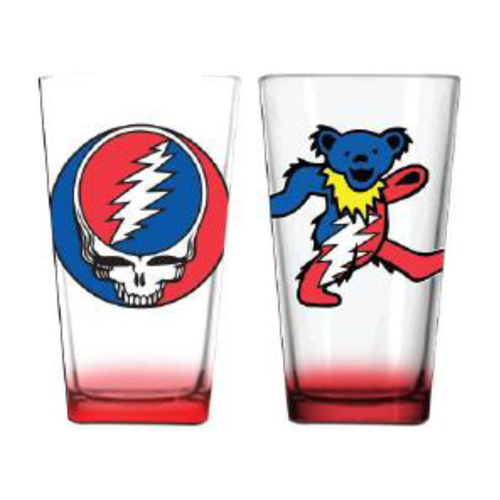 Grateful Dead - Pub Glass Set