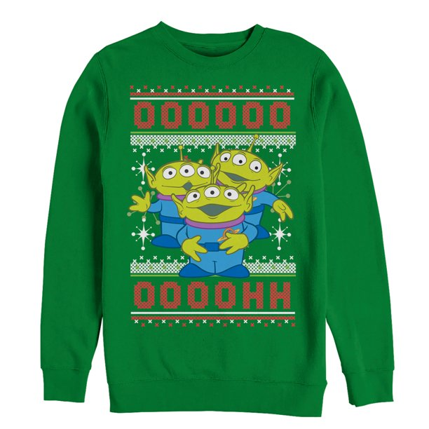 Toy Story Men's Ugly Christmas Sweater Alien Sweatshirt
