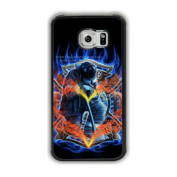 Firefighters Galaxy S7 Edge Case