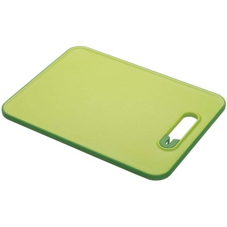Joseph Joseph Slice&Sharpen Chopping board with Knife Sharpener, Small - Green (Butcher Knife Sharpener)