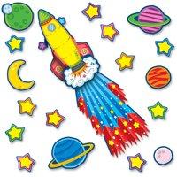 Carson-Dellosa Publishing Rocket 3-D Bulletin Board Set