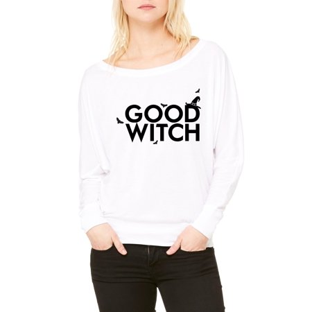 Good Holidays For Couples (Artix Good Witch Matching Couples w Good Witch Witchcraft Gift 4 Wizard Halloween Christmas Party Best Friend Matching Couples Women Flowy Off Shoulder)