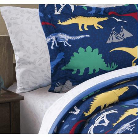 Mainstays Kids Dino Fossil Coordinating Printed Sheet Set ()