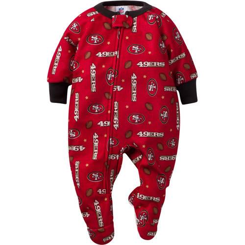 NFL San Francisco 49ers Baby Boys Team Blanket Sleeper