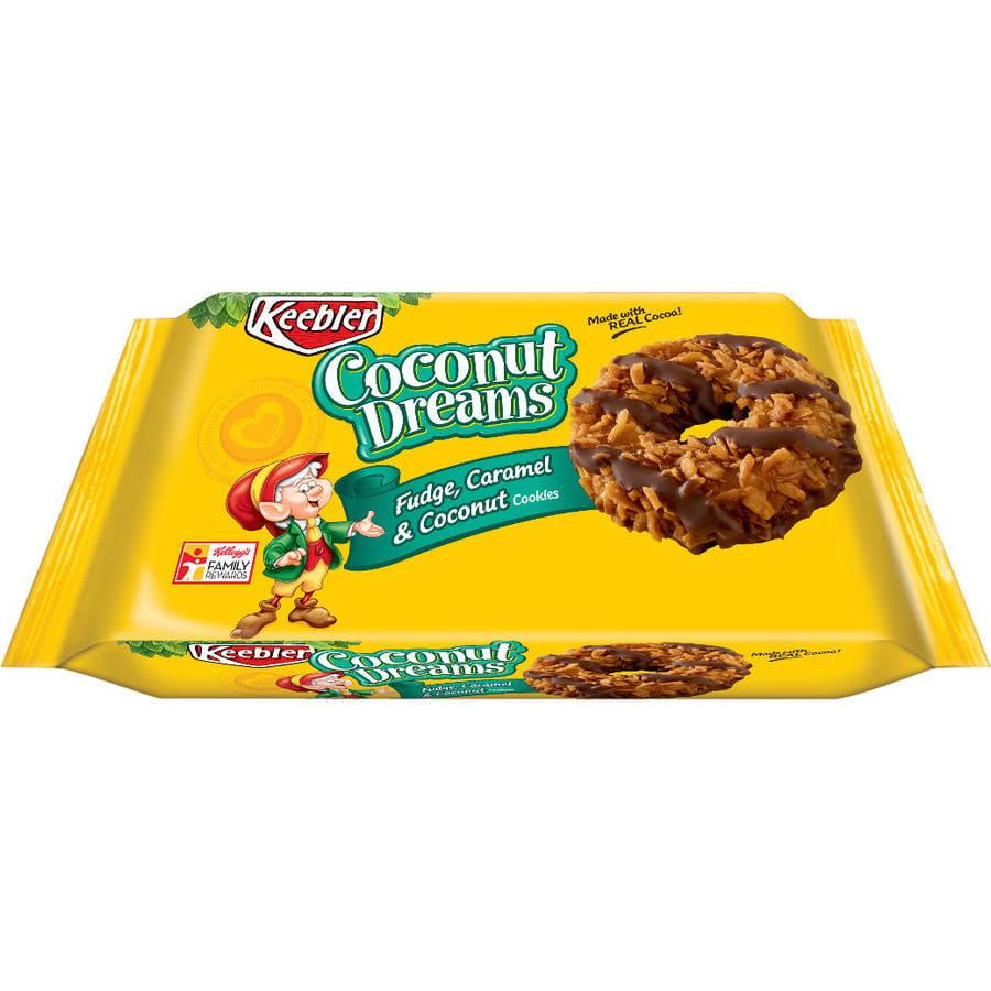 Kellogg Sales Co. Keebler Coconut Dreams Cookies, 8.5 oz, (Pack of 12)