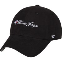 Toronto Blue Jays '47 Women's Cohasset Clean Up Adjustable Hat - Black - OSFA
