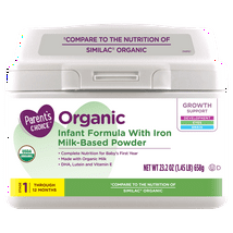 Baby Formula: Parent's Choice Organic