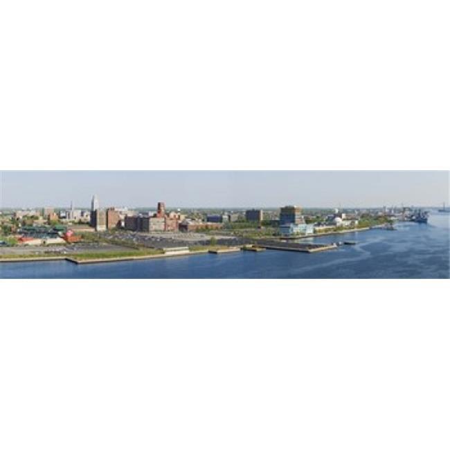 Images panoramiques PPI114930L b-timents au bord de l'eau Adventure Aquarium rivi-re Delaware Camden County New Jersey Copie d'affiche par images panoramiques - 36 x 12 - image 1 de 1