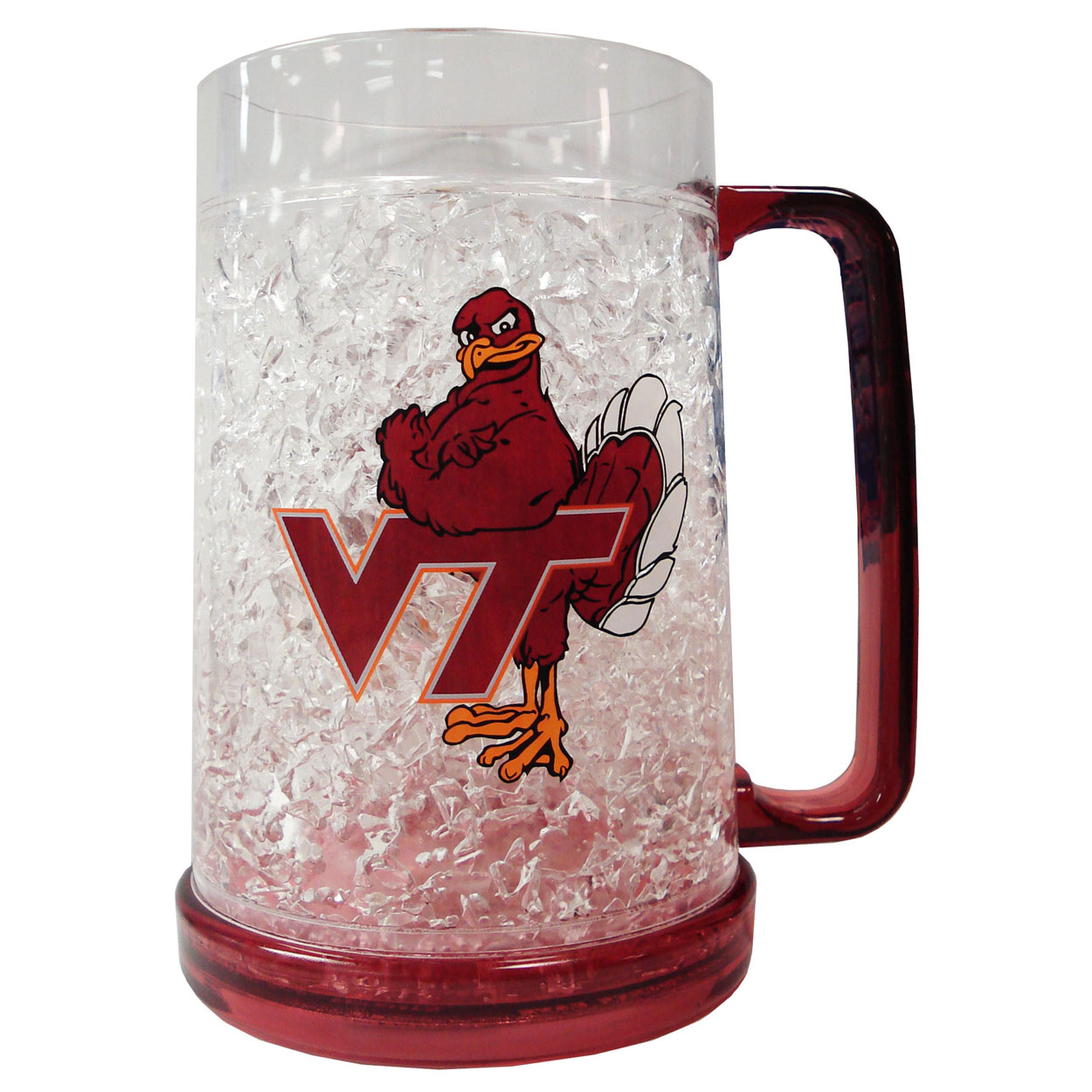 Duckhouse NCAA Virginia Tech Hokies Crystal Freeze