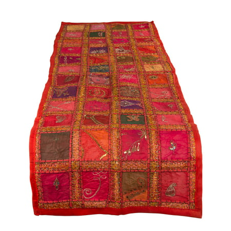 Red Table Runner 100% Cotton 20