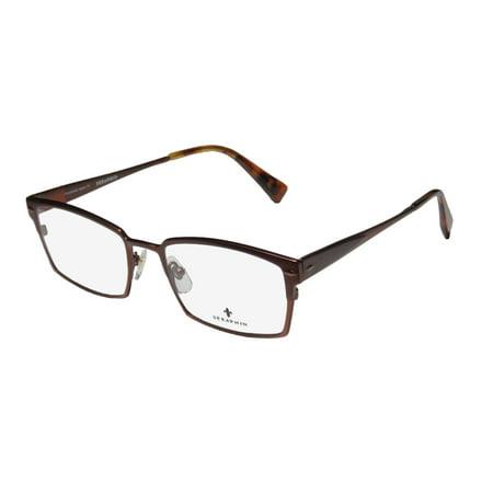bf55ba5debb New Seraphin Oliver Mens Womens Designer Full-Rim Titanium Chocolate Frame  Demo Lenses 53-18-150 Eyeglasses Glasses - Walmart.com