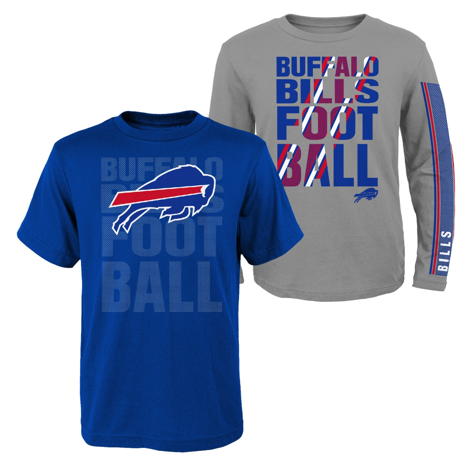 "Buffalo Bills Youth NFL ""Playmaker"" 3 in 1 T-Shirt Combo Set"