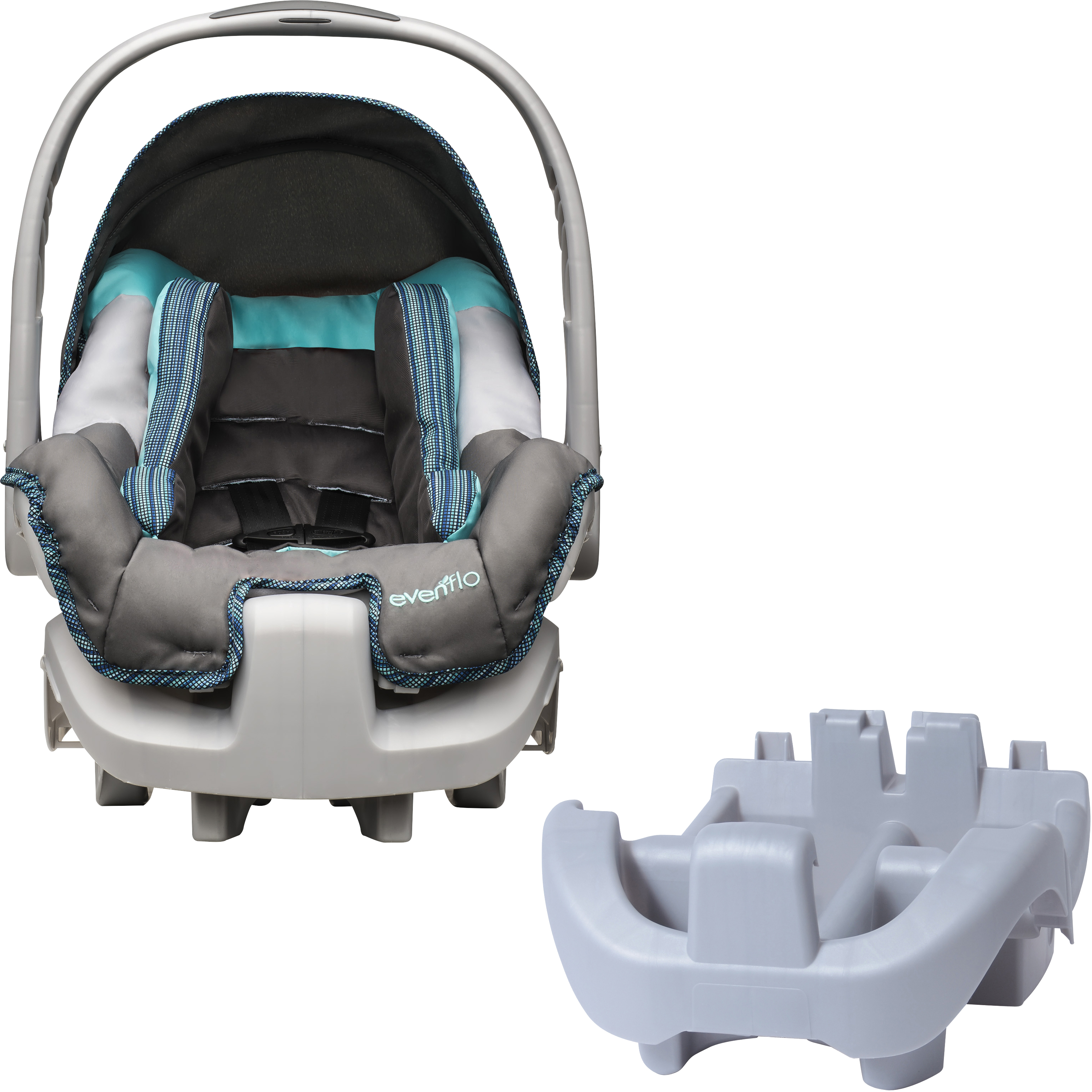 Evenflo Nurture  DLX Infant Car Seat, Henry, with BONUS Nurture Car Seat Base
