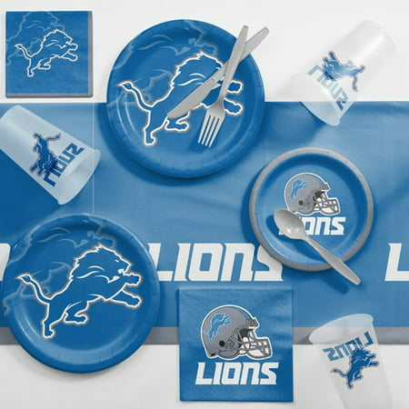 Detroit Lions Game Day Party Supplies Kit - Halloween Parties 2017 Detroit