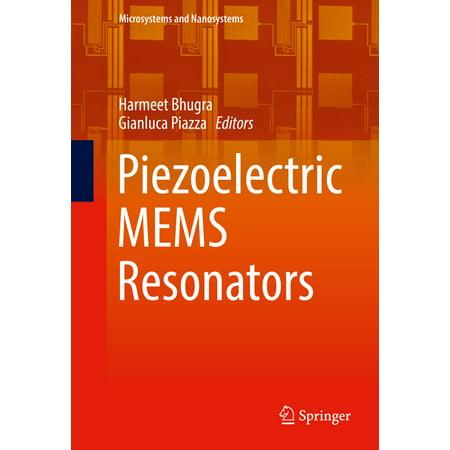 - Piezoelectric MEMS Resonators - eBook