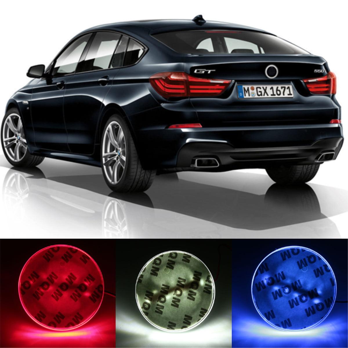 82mm Car Badge Emblem LED Background Light For  1 3 5 7 Series X3 X5 X6 US,White color