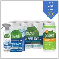 Free $10 eGift Card with Seventh Generation Household Essentials Cleaning Kit Bundle