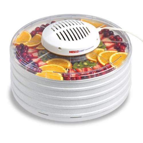 Nesco American Harvest Food Dehydrator with 4 Trays Gray Speckled
