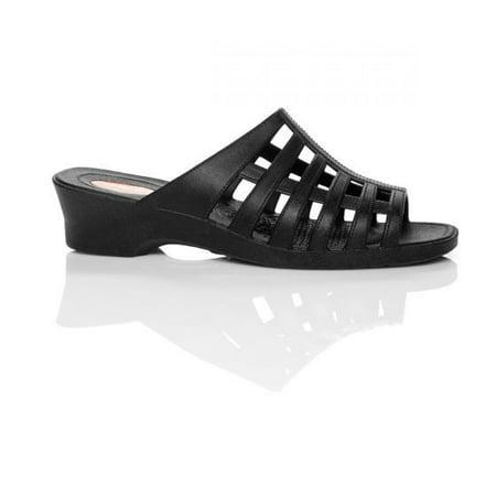 337ed954650 Okabashi - Okabashi Sienna - Women s Sandals-Black-L - Walmart.com
