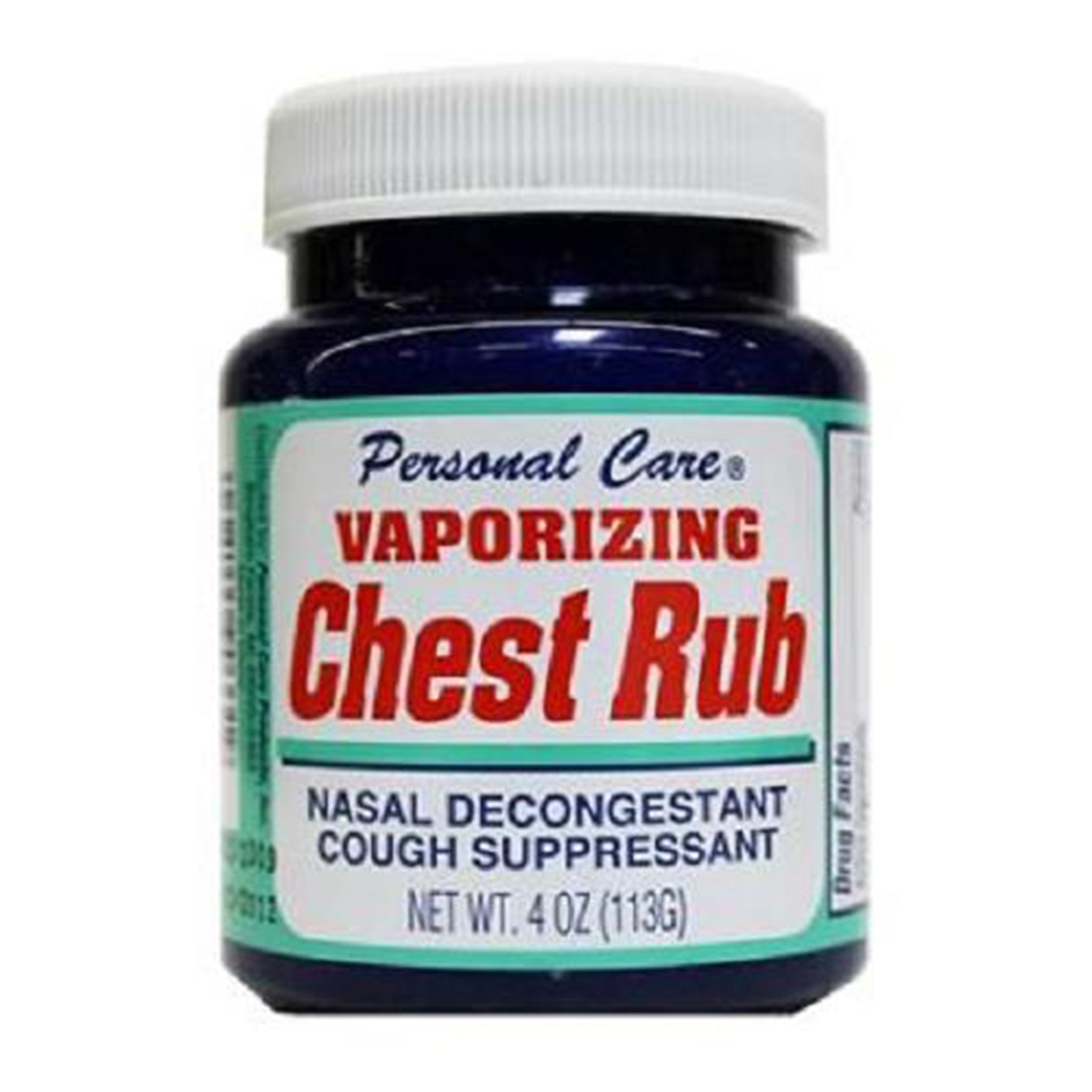 PERSONAL CARE PRODUCTS Vapor Chest Rub, 0.31 Pound