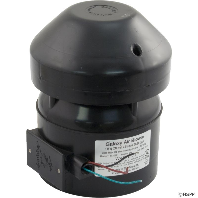 Blower, Air Supply Galaxy Supreme, 1.0hp, 230v, 4.0A, Hardwire