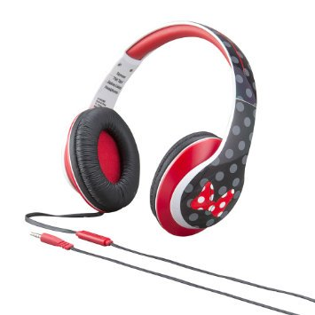 eKids-Minnie-Mouse-Over-the-Ear-Headphones-with-Volume-Control-by-iHome-DM-M40 - Minnie Mouse Headphones