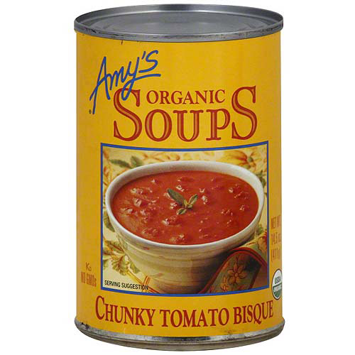 Amy's Kitchen Chunky Tomato Bisque Soup, 14.5 oz (Pack of 12)