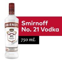 Smirnoff No. 21 Award Winning 80 Proof Vodka - 750 mL Bottle