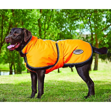 WB Reflective Parka 300D Deluxe Lite Dog Coat 28 - Parka Dog Coat