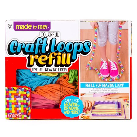 Craft Loops Refill by Horizon Group USA, Replacements for loom and hook kits. By Made By Me