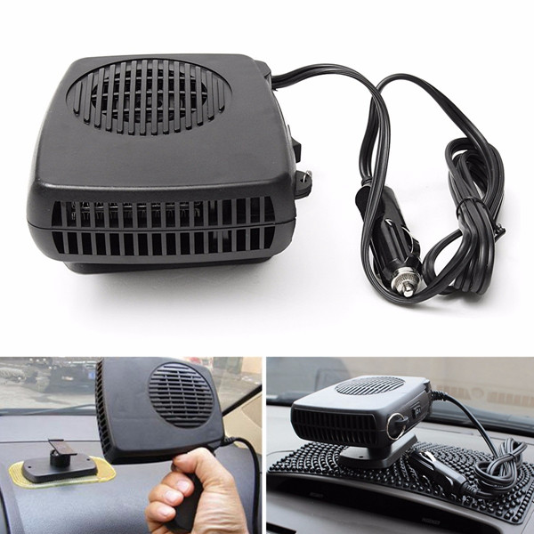 200W 12V/24V Auto Heater Protable Car Heating Electric Travel Defroster Demister Fan