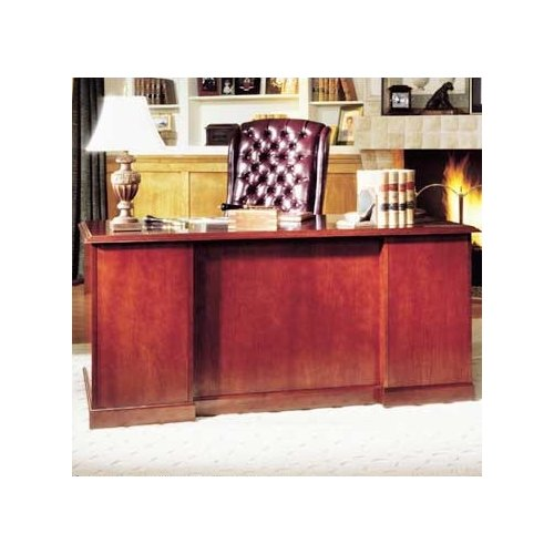 High Point Furniture Legacy Executive Desk with Single Pedestal