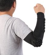 Honeycomb Elbow Pads Crashproof Arm Sleeves Basketball Football Volleyball Protector Padded Support
