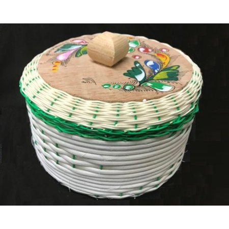 Eco Friendly Hang Tags - Large Mexican Tortilla Keeper Warmer basket Eco Friendly Handmade Made in Mexico Big