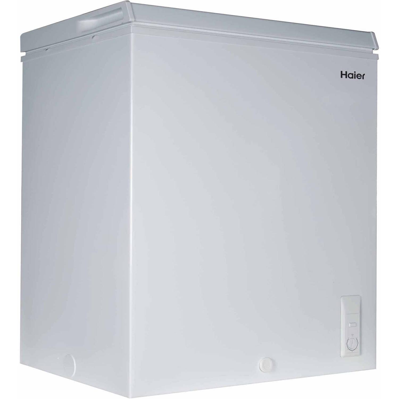 Haier 5.0 cu ft Capacity Chest Freezer, White, HF50CW20W