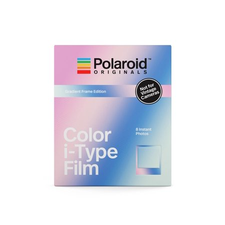 Polaroid Originals Color Film for i-Type Gradient Frame - Polaroid Frame Prop