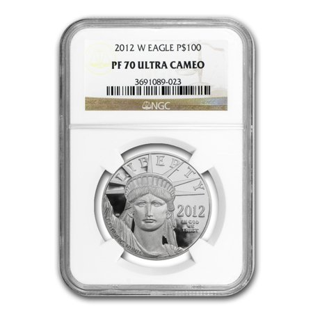 2012 W 1 Oz Proof Platinum American Eagle Pf 70 Ngc