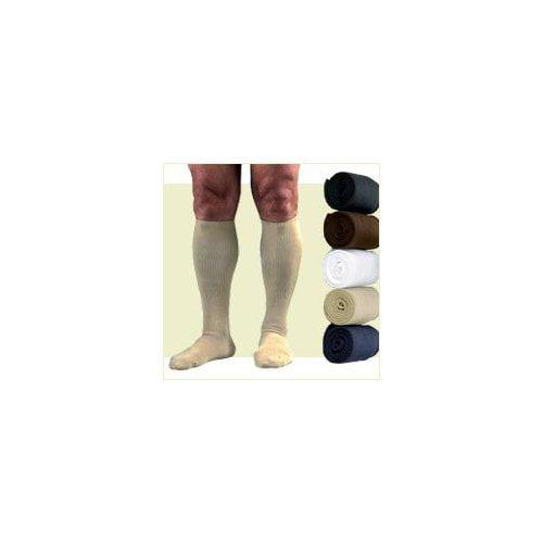 Image of Activa Men's Dress 20 30 Mmhg Firm Support Socks Tan X Large