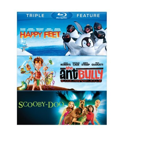 Happy Feet / The Ant Bully / Scooby-Doo: The Movie (Blu-ray)